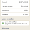 Smoothing loan (duration)