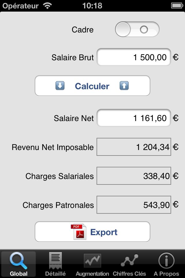 salaire net brut pro manuel utilisateur jp software