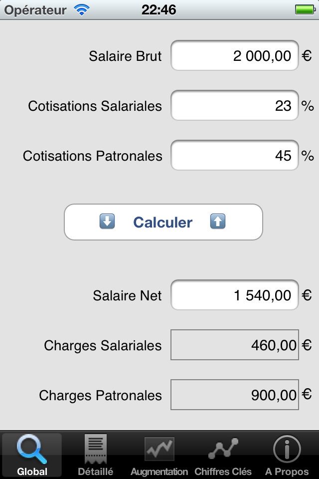 salaire brut net imposable net net salaire net brut 233 valuez votre paie jp software. Black Bedroom Furniture Sets. Home Design Ideas