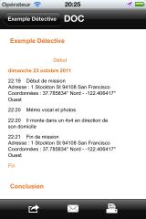 Export fichier DOC